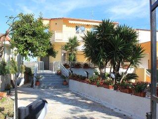 Villa Orchidea casa Vacanze 170 mq, 3 Camere, Mare, Relax, Giardino, Posto Auto