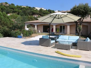 Superb villa in the private domain Nartelle located in a green