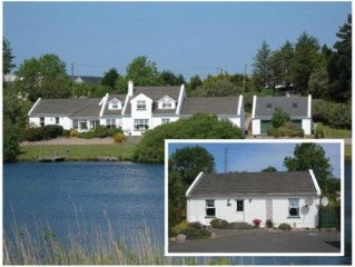 Luxury Lakeside Cottage Perfectly Placed To Explore Donegal With Free Wifi
