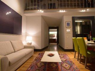 Piazza Plebiscito Appartamento di charme elegantemente arredato per 8 persone