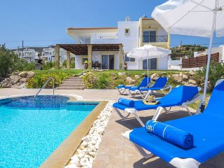 Villa Alexi near Lindos - Wi-Fi, private pool & sea view!r