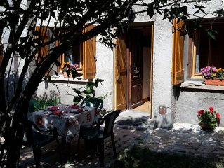 Apartment in a house 3 *** southeast expo, close to the slopes, terrace, open v