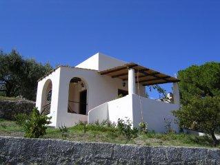 In Lipari, Cottage Wanda. All Aeolian style near