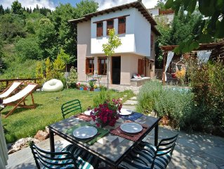 PELION HOMES | Villa DIONI relax in a peaceful villa w/ a small cooling pool