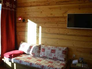 Valloire Chalets Valoria - rent 2 rooms 4/5 p - Panoramic view
