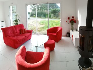 Very confortable and bright New house 200 m from the seaside