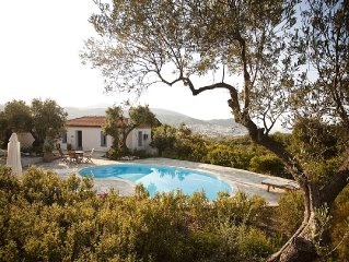 Country Cottage With Private Pool And Sea Views