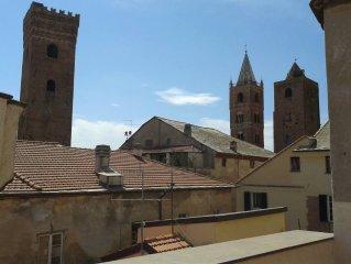 Nel cuore del centro storico con vista sulle torri