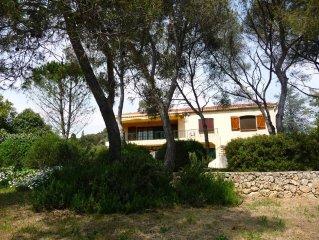 Villa Maeva Saint Raphaël Boulouris, un jardin méditerranéen à 200 m plage sable