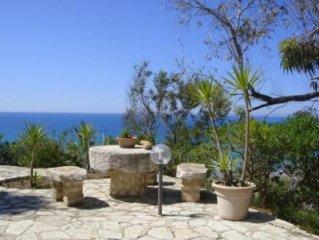 Villa vista mare a 150m dalla spiaggia