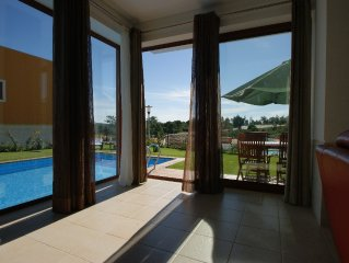Stunning villa with pool. Golf and beach within 5 minutes