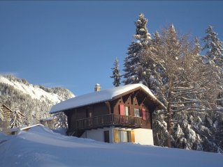 Chalet Les Fetiches - Anzere - Valais - Switzerland (Swiss Alps)