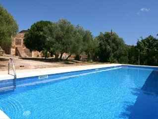 Villa with private pool in Sant Llorenc a few miles from the beach