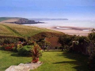 'The Garden Apartment' at 'Folly Rise' Bigbury-on-Sea, South Devon.