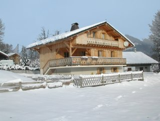 Beautiful 4 Bed Ski Chalet With Pool For Summer Use