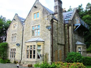 Cleugh Manor; Superb Entertaining Space for Families, History and Nature Lovers