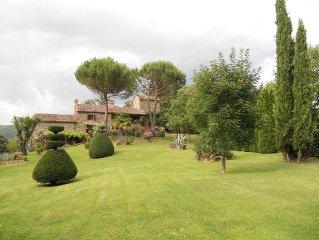 Idyllic and peaceful villa on Tuscan/Umbrian bord
