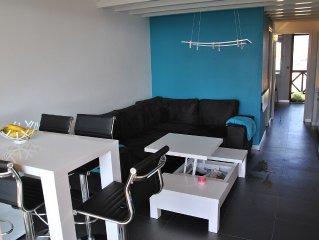 appartement residence front de mer avec piscine et tennis