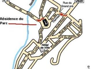Saint Lary Soulan: appartement dans résidence en rez de chaussée, situé (parc de