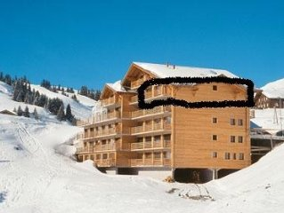 Luxury large 3 bed Ski in Ski out apartment in Les Crosets, Portes du Soleil