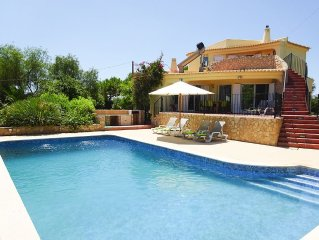 Stunning holiday villa with beautiful views, private pool, large garden
