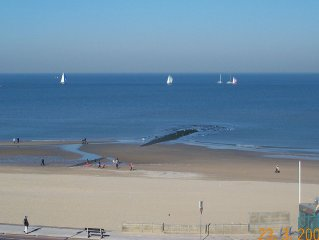 Loft on the sea with sea and promenade