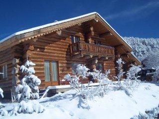 cerdagne ,bolquère, Pyrénées-2000, très beau chalet 4* 12 personnes