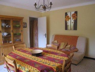 Presqu' Ile De Giens: appart. 36 m2 (1ch) - climatisé,  balcon 8 m2 - vue pinède