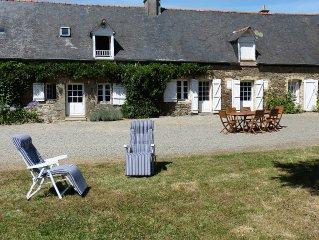 Maison de caractere avec jardin