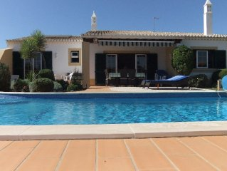 4 Bedroom Private villa  - Large Pool  & Gardens+ Air. Con Wi Fi