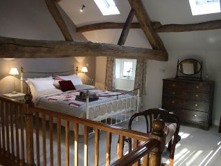 The Hayloft: luxury B&B bolthole for 2