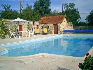 Charmingly restored farmhouse in 1/2 acre with 10m x 5m pool. Offers available