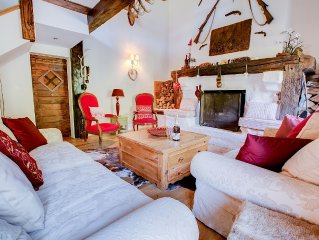 Fabulous farmhouse located close to Morzine.