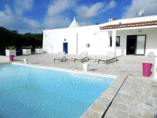 Trullo Camastra: relax tra ulivi e piscina privata