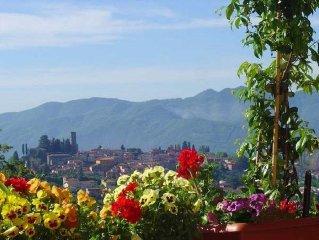 Prestigious Self Catering Holiday Villa For Rent in Barga, Lucca, Firenze,