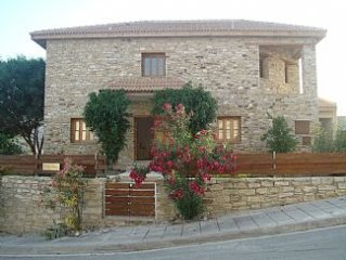 Four Bedroom Stone Villa with Overflow Pool