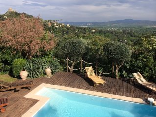 Pretty provencal villa in Grimaud.