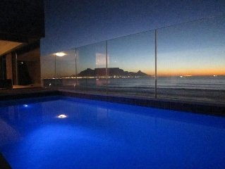 Cape Town Luxury Beachfront Apartment With Private Pool On Patio And Free Wifi