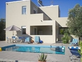 20% reduced prices 2020 Stunning detached villa own pool in Lardos