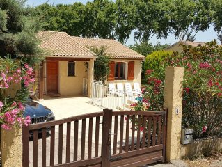Detached Villa On Edge Of Village With Private Pool, Garden And Wi-Fi