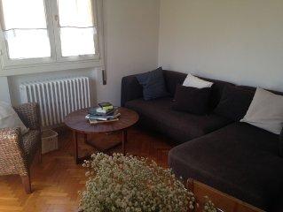 appartamento soleggiato in zona residenziale, a 5 minuti a piedi dalla spiaggia