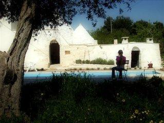 Trullo With Private Pool Near Ceglie Messapica (with free wifi)