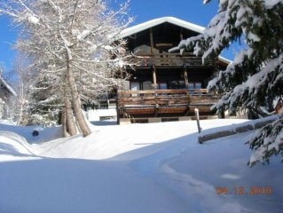 Large chalet at the heart of ski resort of Les Saisies