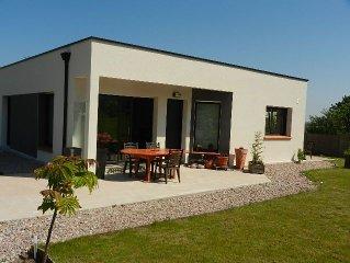Maison contemporaine Cap Fréhel, accessible pers handicapée , jardin et potager