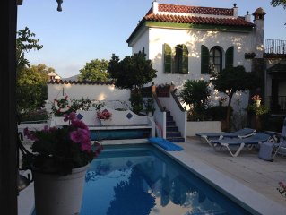Villa With Direct Beach Access. Walled Garden And Private Swimming Pool