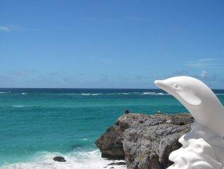 Romantic Oceanfront Villa near Crane Resort    Lovebirds Special please inquire