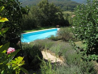 Le Terrine - Large Tuscan farmhouse with private pool and tranquil views
