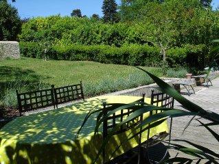 gite avec jardin,piscine,spa proche du centre de Dieulefit