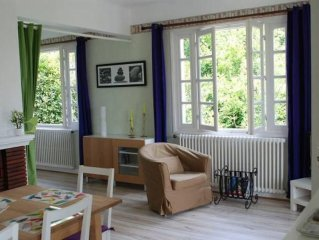 House with garden 5 min from village centre and 15-min walk to the beach