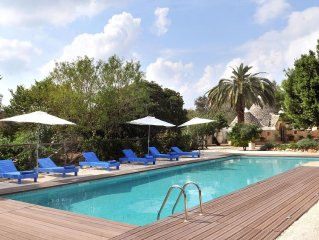Beautifully Restored Trulli with Large 15m Private Pool and Extensive Garden